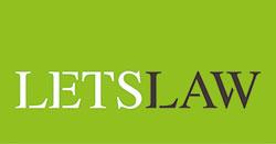 Logotipo letslaw. despacho de abogados especializados en derecho digital.